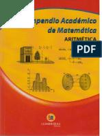 ARITMETICA LUMBRERAS