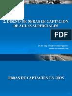 Diseño de Obras de Captacion de Aguas Superficiales