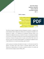 Justicia y Venganza en P. Ricoeur.