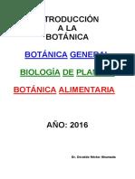 Complemento Teórico-2016-Introducción a La Botánica