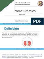 Sindrome urémico