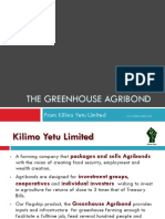 The Green House AgriBond