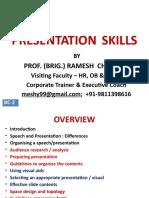 Bc-2, Presentation Skills