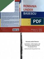 Romania under Basescu article 2011.pdf