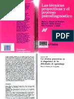 Tecnicas Proyectivas-diagnóstico dificultades de Aprendizaje