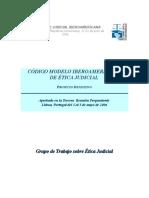 Codigo Iberoamericano de Etica Judicial