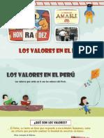 Los Valores en El Perú -SS