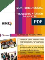 Monitoreo Social - Atención de Alertas