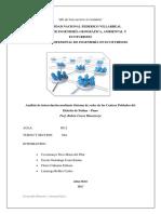Análisis de interrelación mediante Sistema de redes