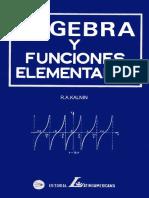 Algebra y Funciones Elementales - R.A. Kalnin.pdf