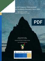 Memorias Del Congreso Celaya 2016 - Tomo 00 - Portada e Índice