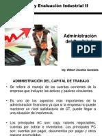 Clase 2 Administración Del Capital de Trabajo