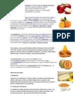 Alimentos naturales e Industriales