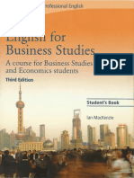 English for Business Studies - Book