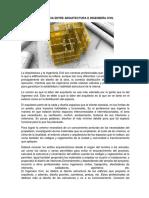 Diferencia Entre Arquitectura e Ingeniería Civil
