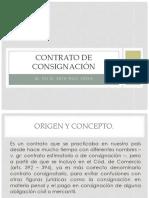 CONTRATO DE CONSIGNACIÓN