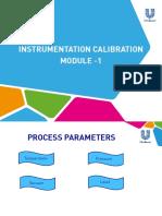Instrumentation Caliberation Module 1( Temperature)