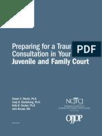 NCJFCJ Trauma Manual for Family and Juvenile Court Judges
