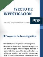 2. El Proyecto de Investigación Gmq