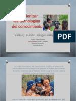Exposición Video y Epistemología   Indígena