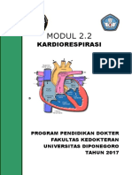 Modul 2.2 Kardiorespirasi & Regio Colii Logo Undip