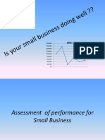 Assessment of Performance for Small Business