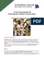 Os Sete Sacramentos Da Santa Igreja Conservadora