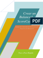 Crear un Balanced Scorecard + Sharepoint