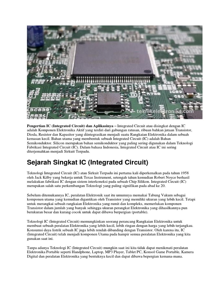 Icdocx Ic Integrated Circuit
