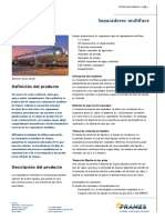 Product Leaflet Spanish Multiphase Separation
