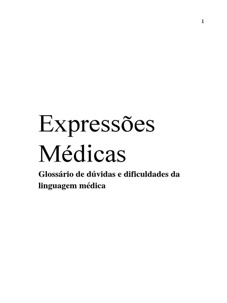 186664312acd5 Dicionário de expressões médicas.pdf