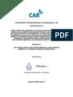 Guia Tecnica v4a Guía Técnica Adecuación Hidráulica y Restauración Ambiental de Corrientes Hídricas Superficiales CORPORACION AUTONOMA REGIONAL DE CUNDINAMARCA CAR
