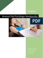 319421517 Arancel Del Psicologo Hondureno