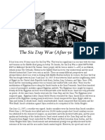 The Six Day War (50 Years Later)