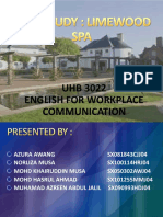English for Workplace Environment - Slide