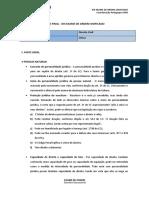RF Civil XIII Exame