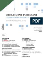 ESTRUCTURAS PORTICADAS