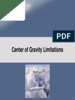 03 Center of Gravity Limitations