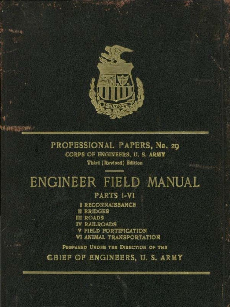 army engineers field manual 1909 compass geography rh scribd com Army Training Manual Army Field Manual 3 21.5