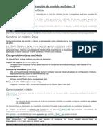 Odoo10 -Construccion Modulo