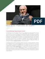 Atilio Boron - Publicistas Del Imperio