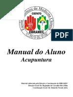 Manual Do Aluno Acupuntura Atual Em 8-07-16