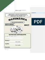6to PRUEBA DIAGNOSTICA DE MATEMATICA (Autoguardado).docx