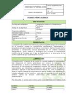 2017 Fundamentos Históricos y Epistemología Psicológica FORMATO de ASIGNATURA