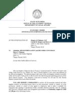 Shapiro Fishman Subpoena AG