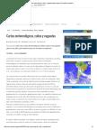 Cartas meteorológicas, Cuñas y Vaguadas