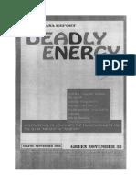 Deadly Energy
