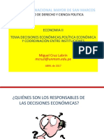 Politica Economica Coordinacion de Instituciones