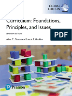 Francis P. Hunkins Allan C. Ornstein Curriculum Foundations, Principles, An