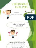 Energias Renovables en El Peru